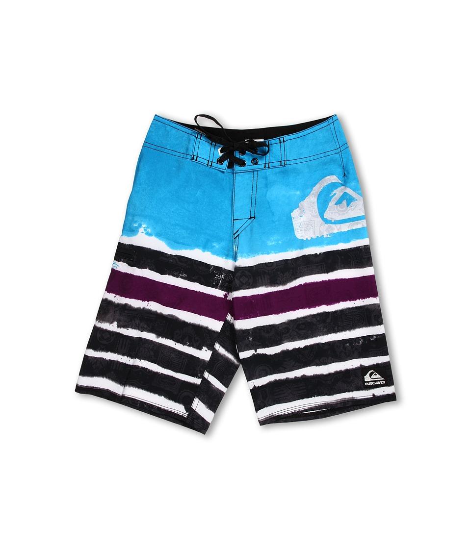 Quiksilver Kids Cypher Kelly Roam Boardshort Boys Swimwear (Blue)