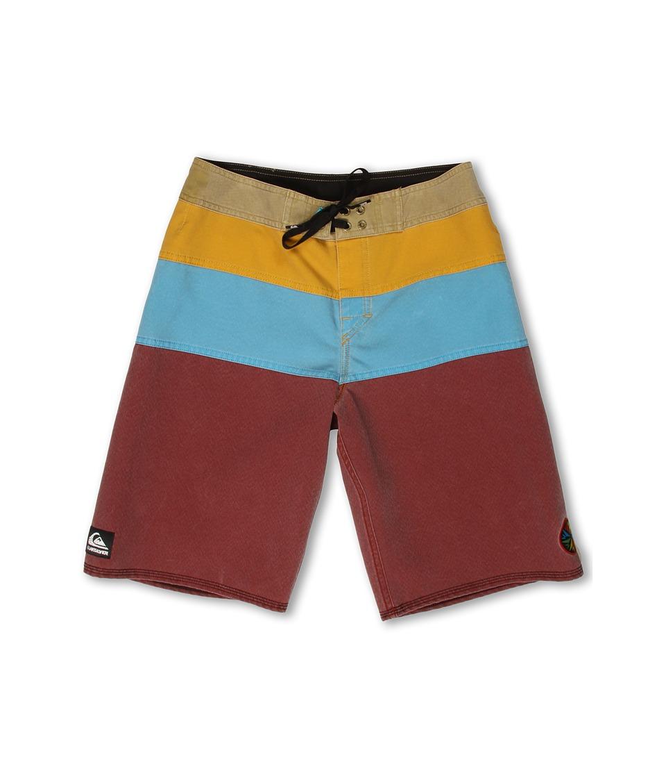 Quiksilver Kids Cypher No Frills Boardshort Boys Swimwear (Red)