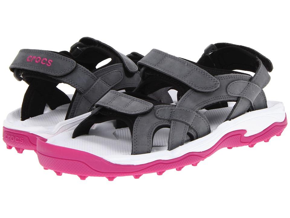 Crocs - XTG LoPro Sandal W (Charcoal/Fuchsia) Women's Sandals