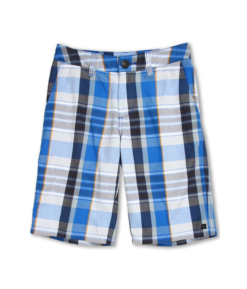 Quiksilver Kids Nectar Walkshort Boys Shorts (White)