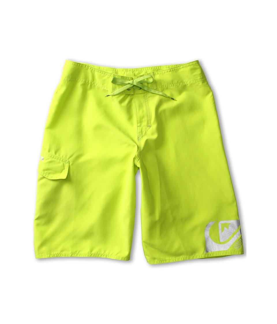 Quiksilver Kids Smashing Boardshort Boys Swimwear (Green)