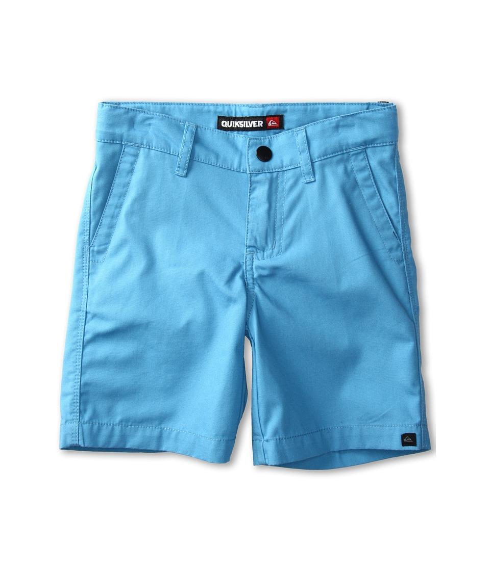 Quiksilver Kids Rockford Walkshort Boys Shorts (Blue)