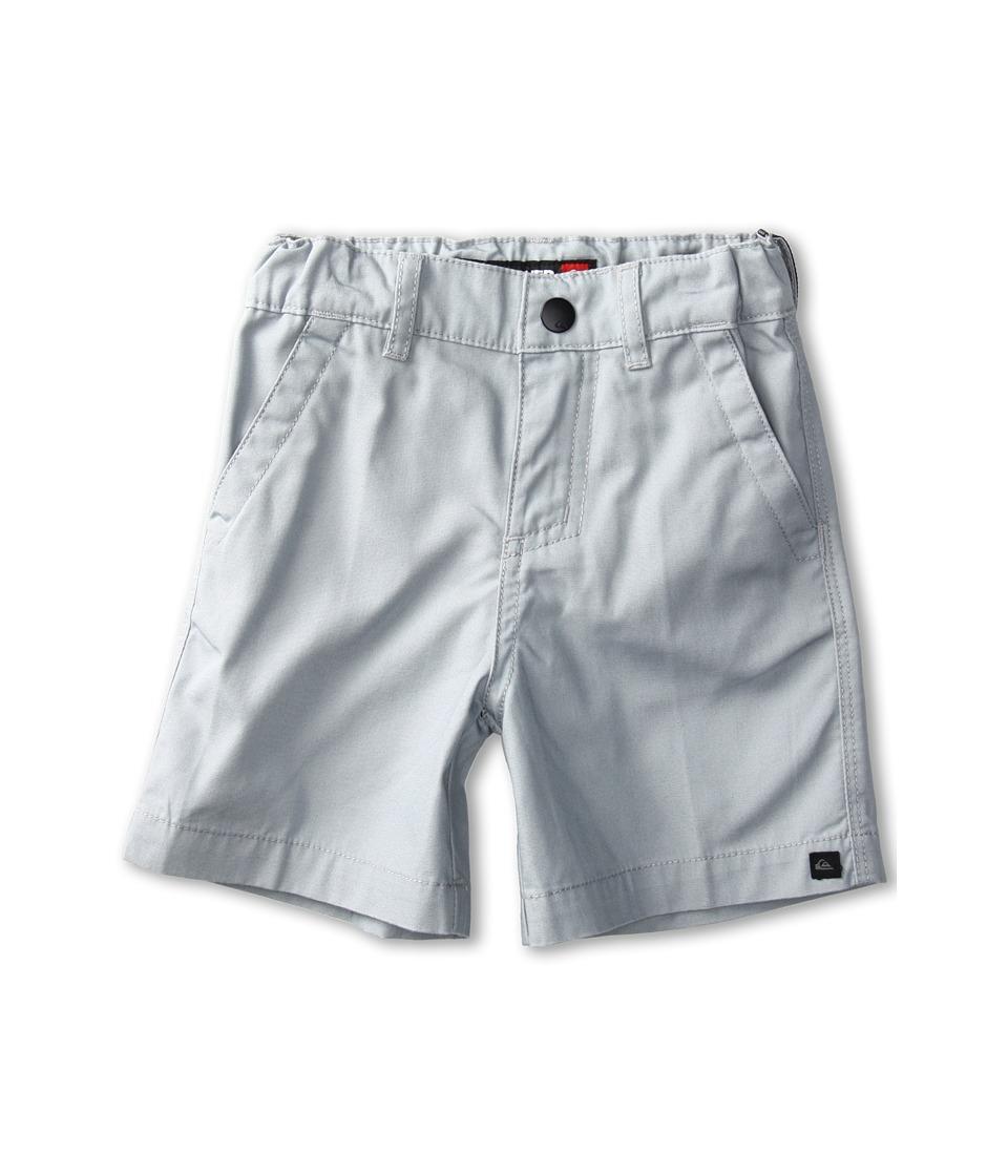 Quiksilver Kids Rockford Walkshort Boys Shorts (Gray)