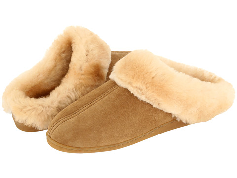 Minnetonka - Sheepskin Mule (Golden Tan Sheepskin) Women's Shoes