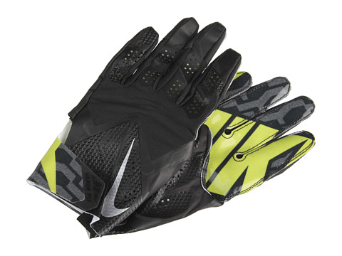 Nike - Vapor Fly (Black/Black/Black/Metallic Silver) Gore-Tex Gloves