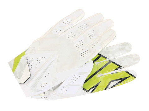Nike - Vapor Fly (White/White/White/Metallic Silver) Gore-Tex Gloves