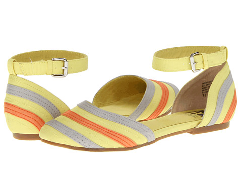 BC Footwear - Writings On The Wall (Yellow Multi) Women's Sandals
