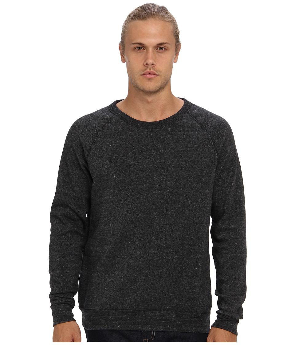Alternative - Champ Eco Fleece Sweatshirt (Eco Black) Men's Long Sleeve Pullover