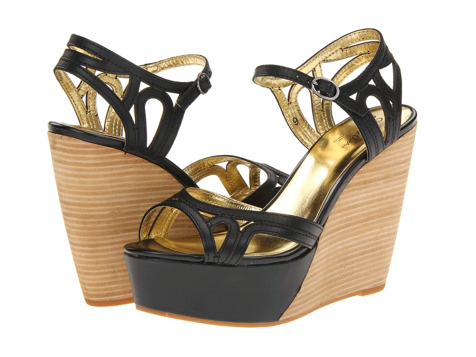 Seychelles - Nothin To Be Afraid Of (Black) Women's Wedge Shoes