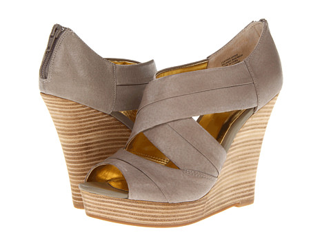 Seychelles - Risky Business (Taupe) Women's Wedge Shoes