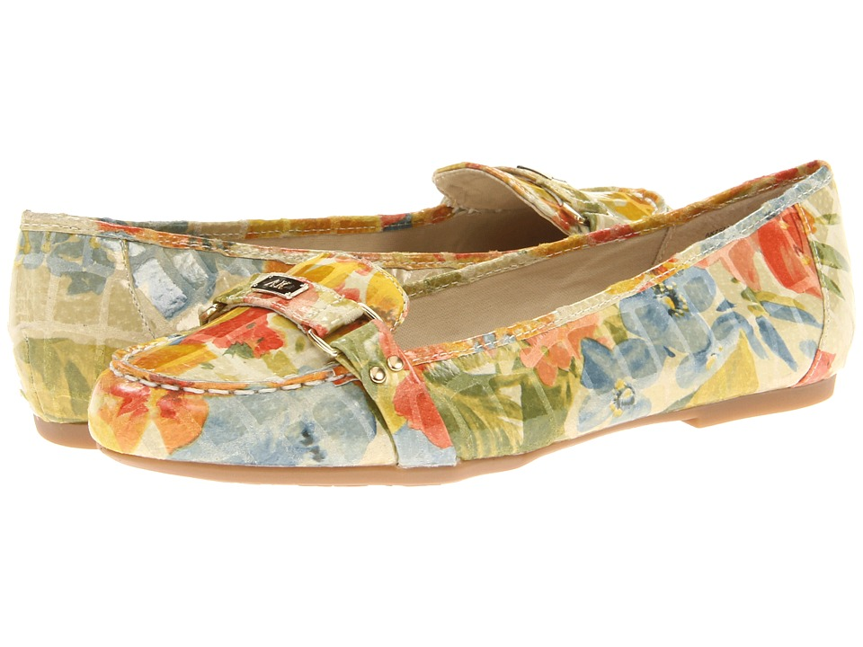 Anne Klein 7Sadya (Yellow Multi Floral Croc) Women