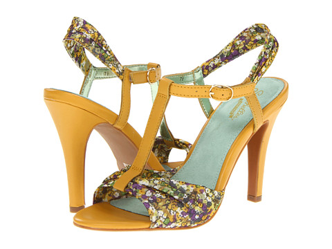 Seychelles - Do What Ya Like (Yellow Floral) High Heels