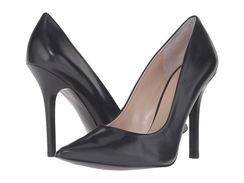 GUESS - Neodan (Black Leather) High Heels