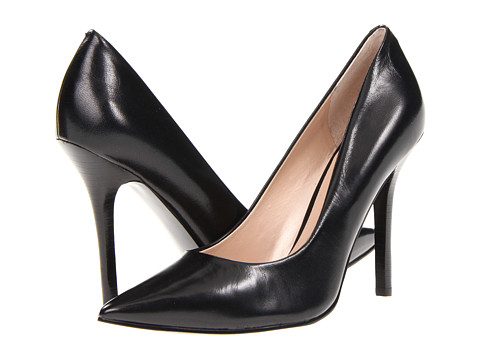 GUESS - Neodan (Black Leather) High Heels