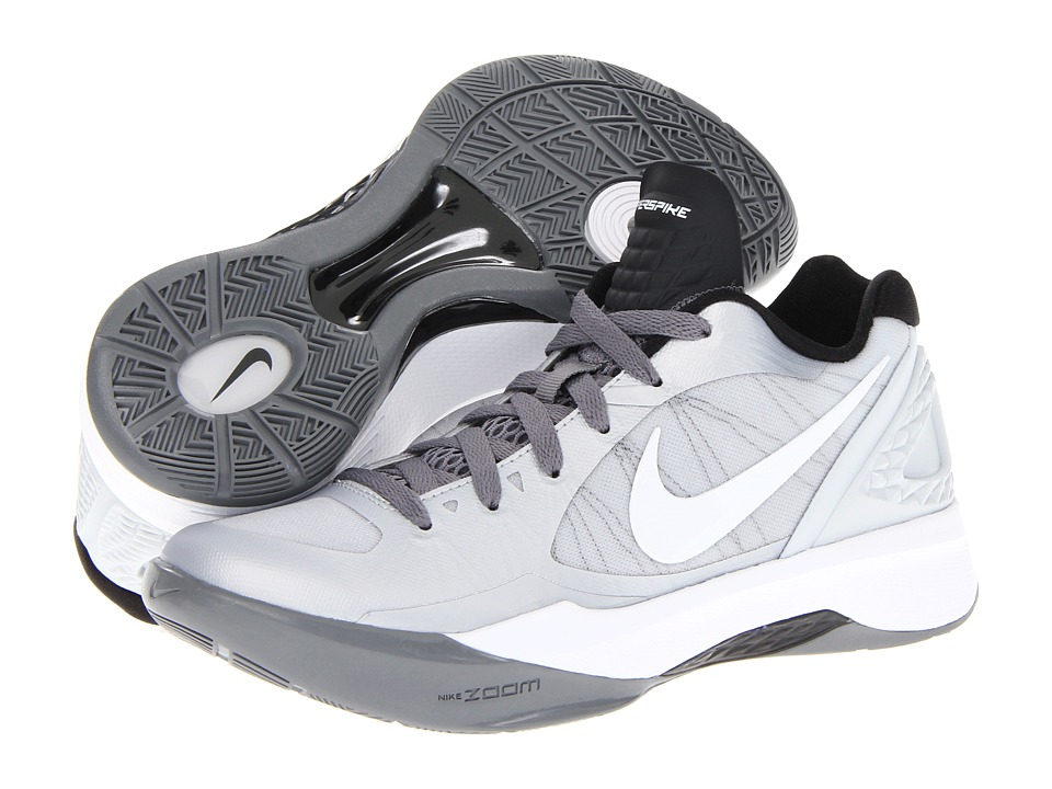 Nike - Volley Zoom Hyperspike (Pure Platinum/Cool Grey/Metallic Platinum/White) Women's Volleyball Shoes
