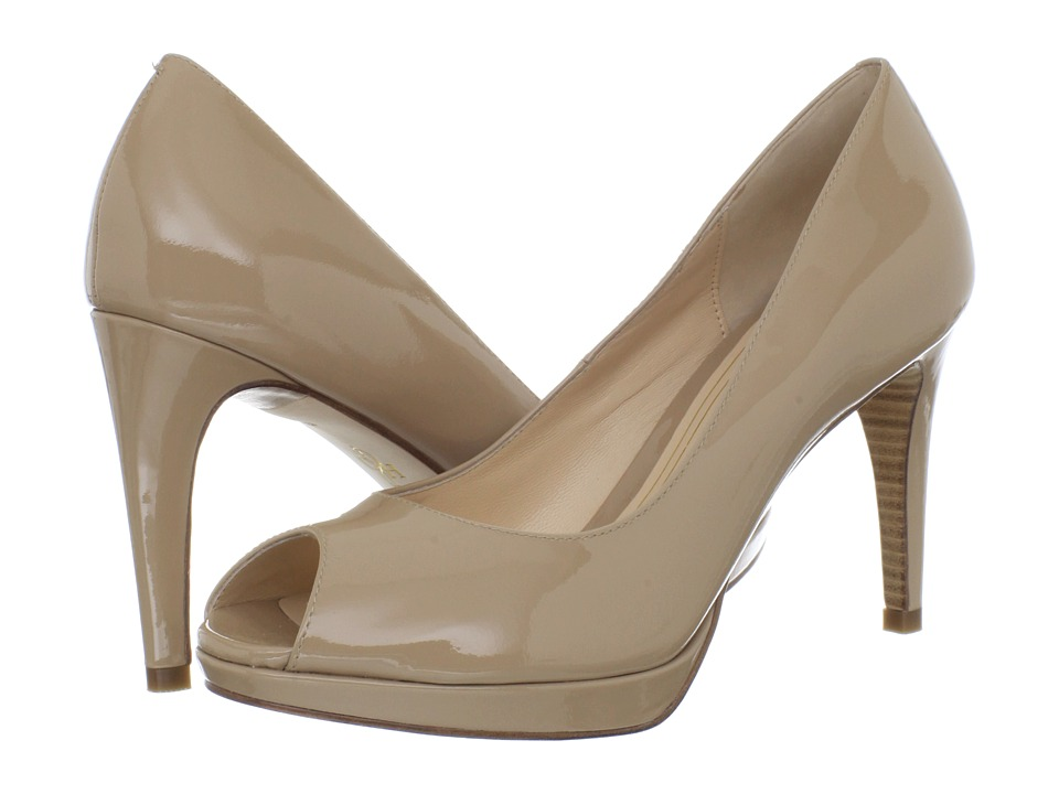 ... UPC 743296717213 product image for Cole Haan Chelsea OT Pump (Sandstone  Patent) High Heels