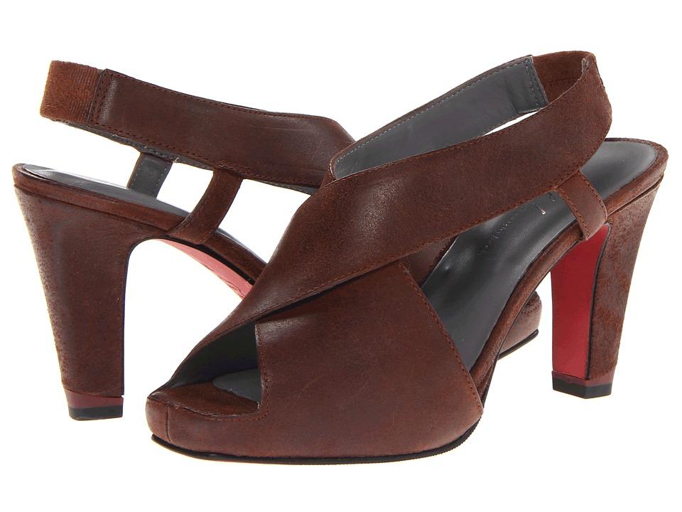 Oh! Shoes - Pauletta (Chocolate Artisan Burnished) High Heels