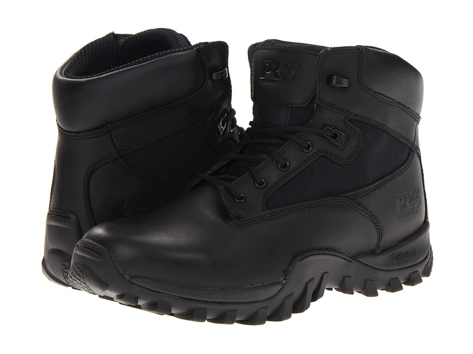 Timberland PRO - Valor McClellan 6 Soft Toe (Black1) Men's Boots