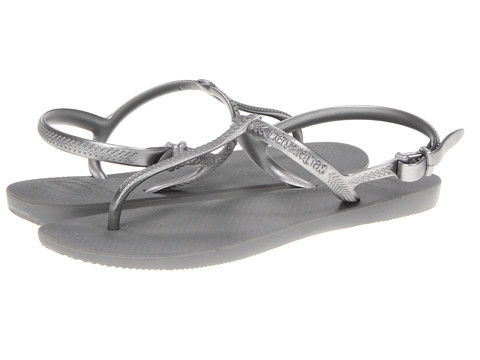 Havaianas - Freedom Flip Flops (Grey/Silver) Women's Sandals