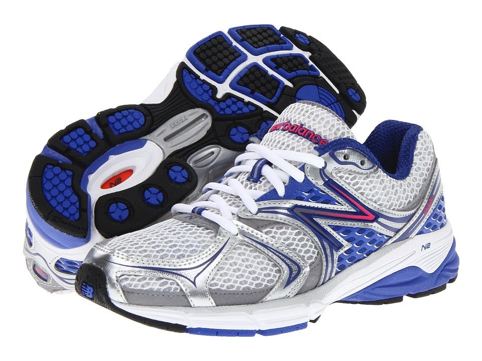 New Balance - W940V2 (White/Blue) Women's Running Shoes