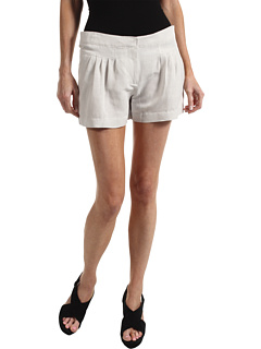 SALE! $101.99 - Save $123 on Tibi Pleated Easy Short (Silver Grey) Apparel - 54.67% OFF $225.00
