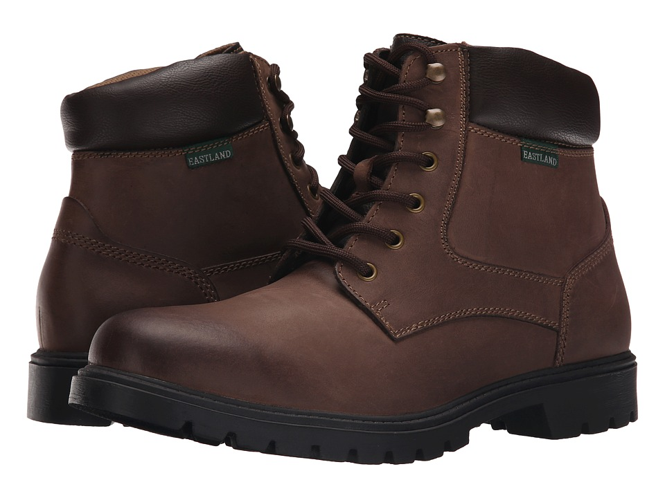 Eastland - Burlington (Bomber Brown Leather) Men's Lace-up Boots