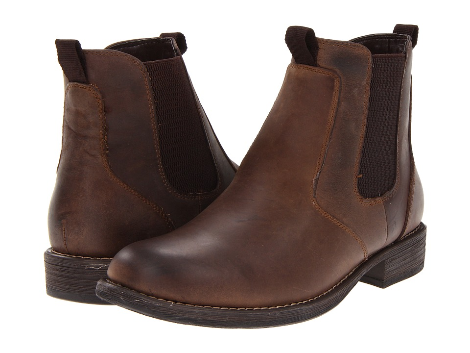 Eastland 1955 Edition - Daily Double (Chocolate Oiled Suede) Men's Pull-on Boots