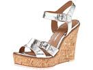 Lisa for Donald Pliner - Kalani (Silver/Silver/Natural Metallic Snake) - Footwear