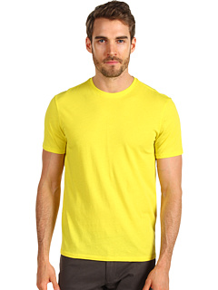 SALE! $14.99 - Save $30 on Vince Short Sleeve Crew Neck (Electric Yellow) Apparel - 66.69% OFF $45.00