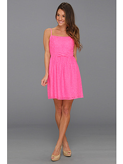 SALE! $119.99 - Save $118 on Lilly Pulitzer Antonia Dress (Fiesta Pink) Apparel - 49.58% OFF $238.00