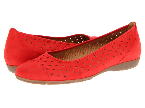 Gabor - Gabor 64.169 (Red) Women's Dress Flat Shoes