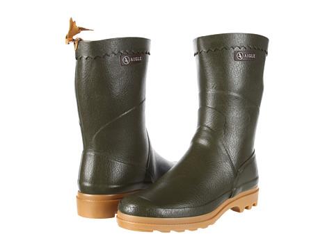 AIGLE - Bison (Khaki) Rain Boots