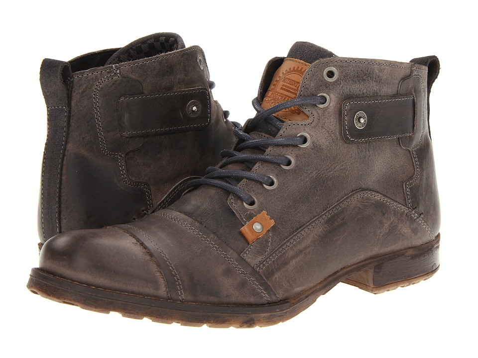 Type Z - Harvey (Grey Leather) Men