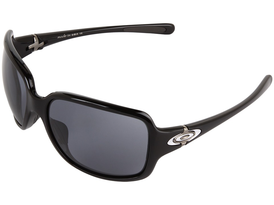 Oakley - Break Point (Black w/ Grey) Sport Sunglasses