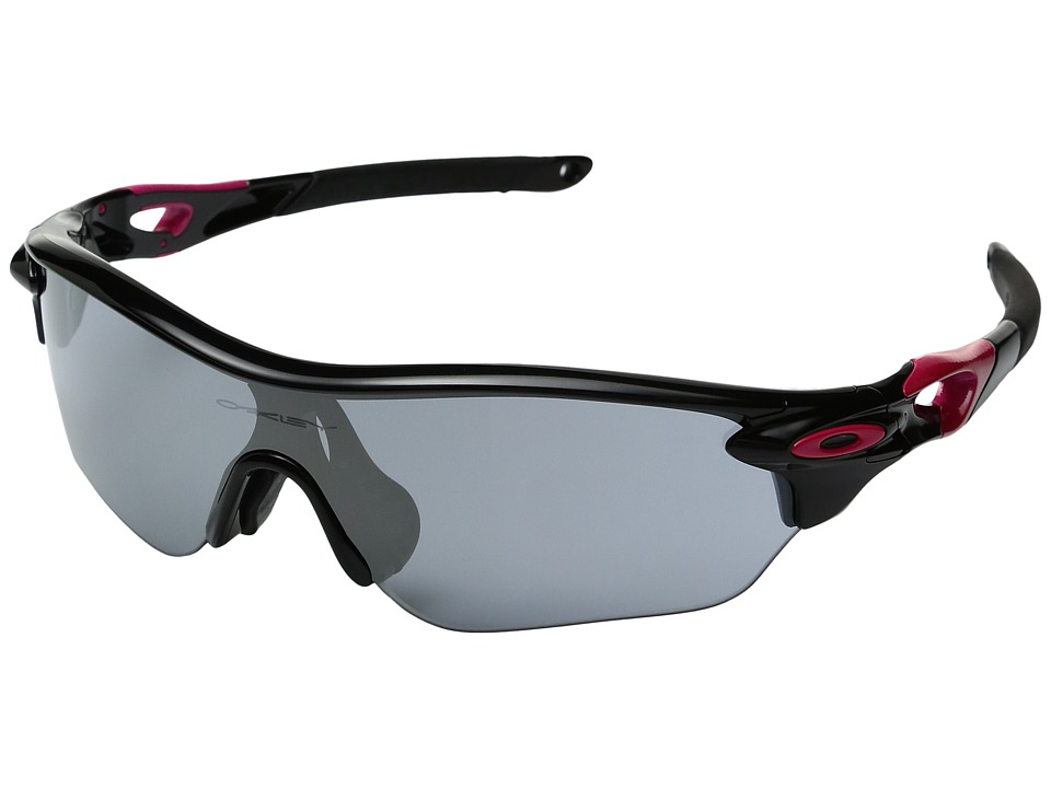 Oakley - Radarlock (Black w/ Slate Iridium) Sport Sunglasses