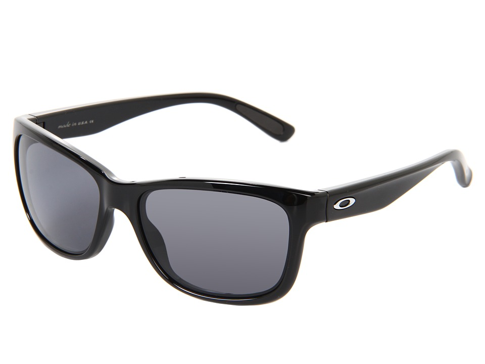 Oakley - Forehand (Black w/ Grey) Sport Sunglasses