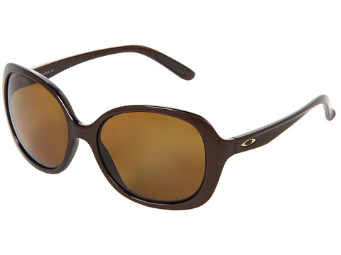Oakley - Backhand (Brown w/ Brown Polarized) Sport Sunglasses