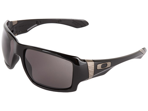 Oakley - Big Taco (Black w/ Warm Grey) Sport Sunglasses