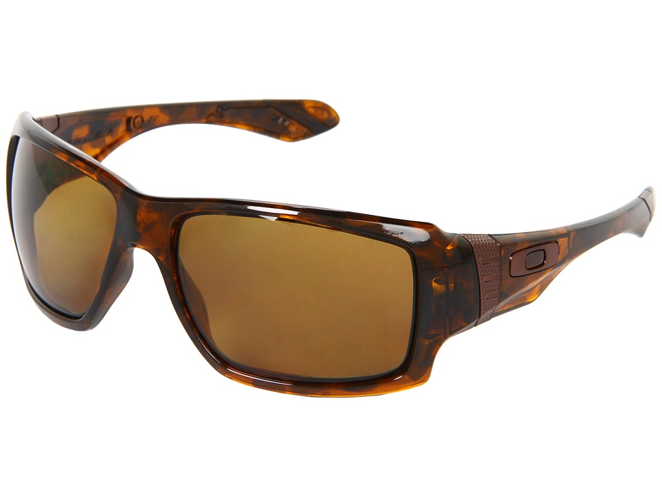 Oakley - Big Taco Polarized (Brown w/ Bronze Polarized) Sport Sunglasses