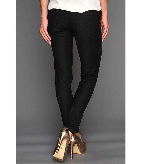 BCBGeneration - Jasper Reversible Skinny Jean (Black/Coral) Women