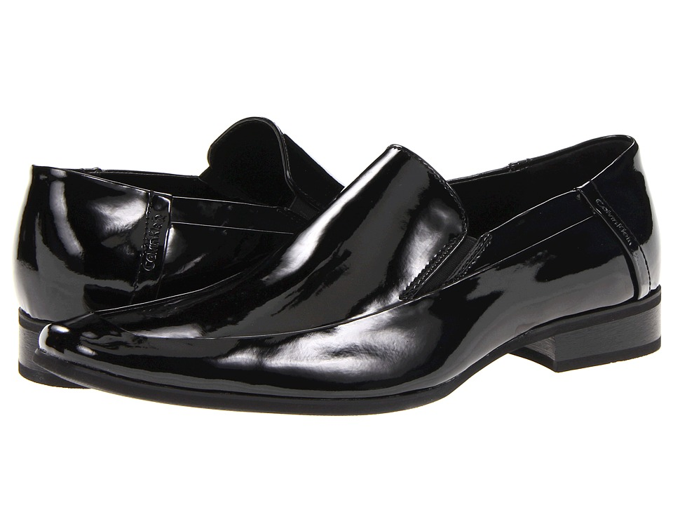 Calvin Klein - Brad (Black Patent) Men's Shoes
