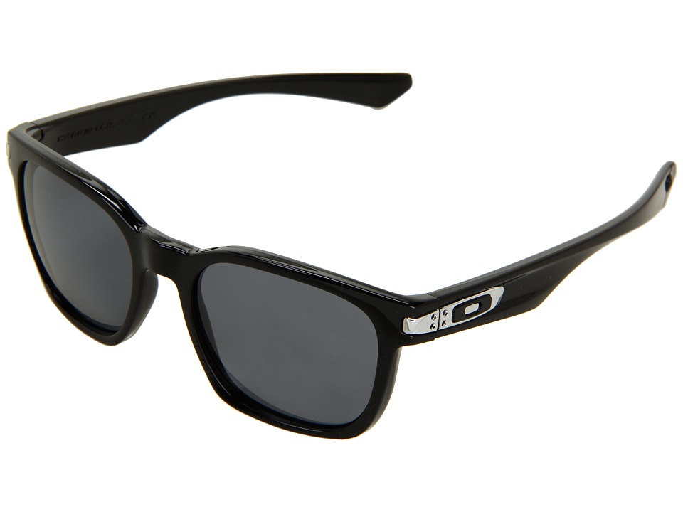 Oakley - Garage Rock (Polished Black W/ Grey) Plastic Frame Sport Sunglasses