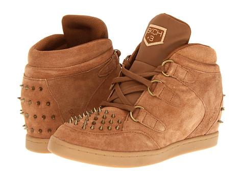 SKECHERS - SKCH Plus 3 - Fangs (Chestnut) Women's Wedge Shoes