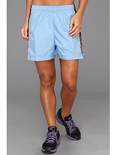SALE! $14.99 - Save $15 on Nike E4 Woven Short (Light Blue Obsidian Bright Citrus Bright Citrus) Apparel - 50.03% OFF $30.00