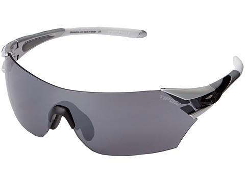 Tifosi Optics - Podium Golf Interchangeable (Metallic Silver) Athletic Performance Sport Sunglasses