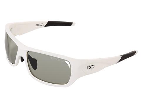 Tifosi Optics - Duro Fototec - Smoke (Matte White/Smoke Fototec Lens) Sport Sunglasses