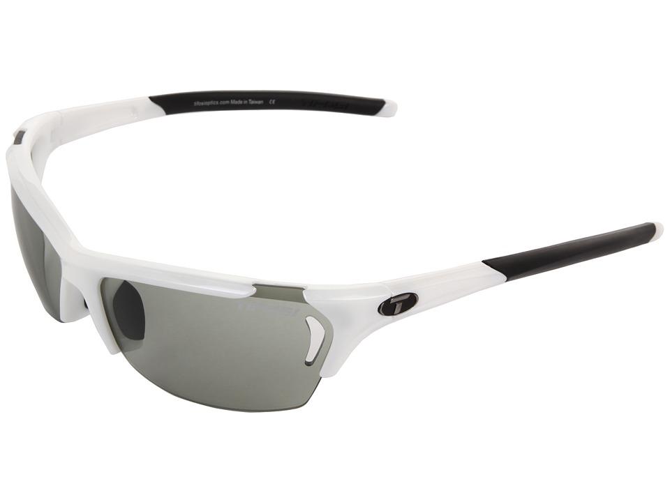 Tifosi Optics - Radiustm Fototectm - Smoke (Pearl White/Smoke Fototec Lens) Sport Sunglasses