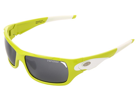 Tifosi Optics - Duro Interchangeable (Neon Green/Smoke/AC Red/Clear Lens) Sport Sunglasses