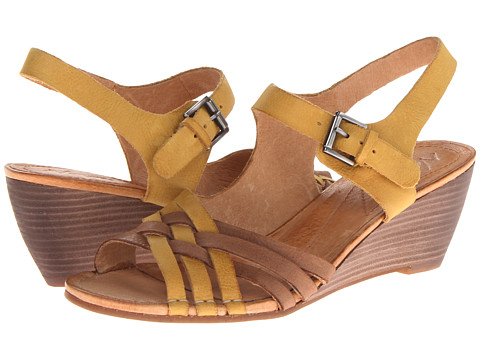Naya - Fausta (Hot Mustard/Coffee Bean Leather) Women