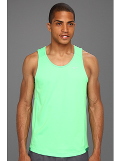 SALE! $14.99 - Save $13 on Nike Miler Singlet (Team) (Poison Green Poison Green Reflective Silver) Apparel - 46.46% OFF $28.00